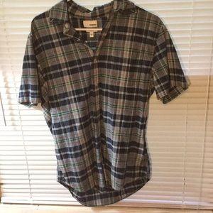 Plaid Sonoma Button up shirt